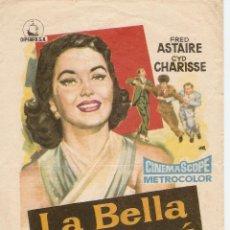 Cine: LA BELLA DE MOSCÚ - FRED ASTAIRE, CYD CHARISSE - DIRECTOR ROUBEN MAMOULAIN - JANO - M.G.M.. Lote 48873530