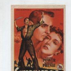Cine: GUERRILLEROS EN FILIPINAS. SOLIGO. SENCILLO DE 20TH CENTURY FOX.. Lote 48888627