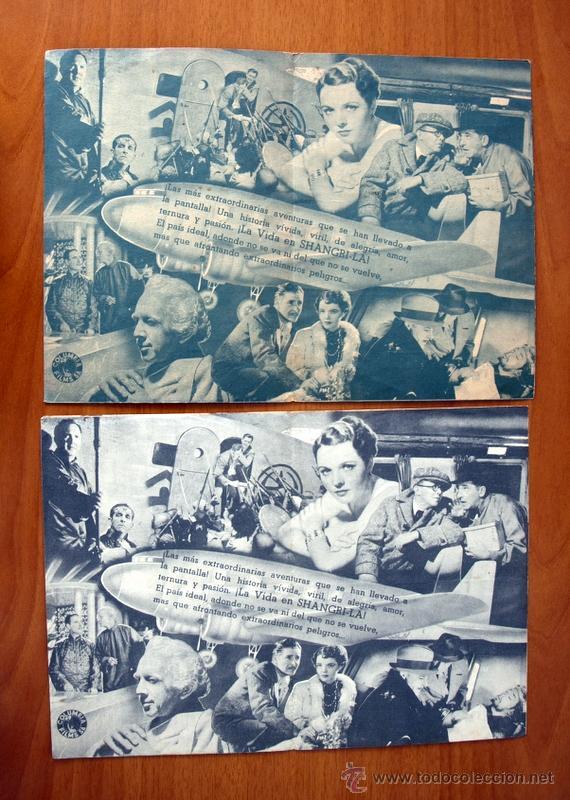 Cine: Horizontes Perdidos - Ronald Colman - Con publicidad - Foto 2 - 48918920