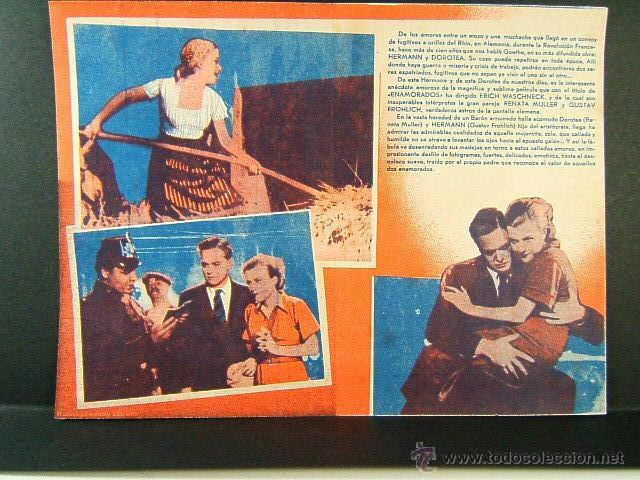 Cine: ENAMORADOS-RARISIMA PUBLICIDAD CATALAN-ERICH WASCHNECK-RENATA MULLER-CASA POBLE-CINE-FERXAMA-AÑOS 30 - Foto 2 - 48921472