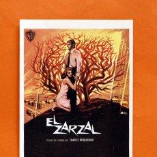 Cine: FOLLETO DE MANO MODERNO - EL ZARZAL - RICHARD BURTON, BARBARA RUSH - GRAFICAS MARFIL - . Lote 48952641
