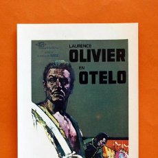 Cine: FOLLETO DE MANO MODERNO - OTELO - LAURENCE OLIVIER - GRAFICAS MARFIL - . Lote 48952887