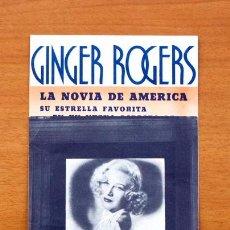 Cine: EN PERSONA - GINGER ROGERS, GEORGE BRENT - CON PUBLICIDAD. Lote 48980636