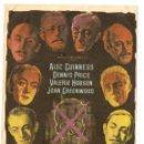 Cine: OCHO SENTENCIAS DE MUERTE - ALEC GUINNESS, DENNIS PRICE, VALERIE HOBSON, JOAN GREENWOOD. Lote 48987834