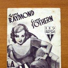Cine: LA BELLA REBELDE - GENE RAYMOND, ANN SOTHERN . Lote 48989394