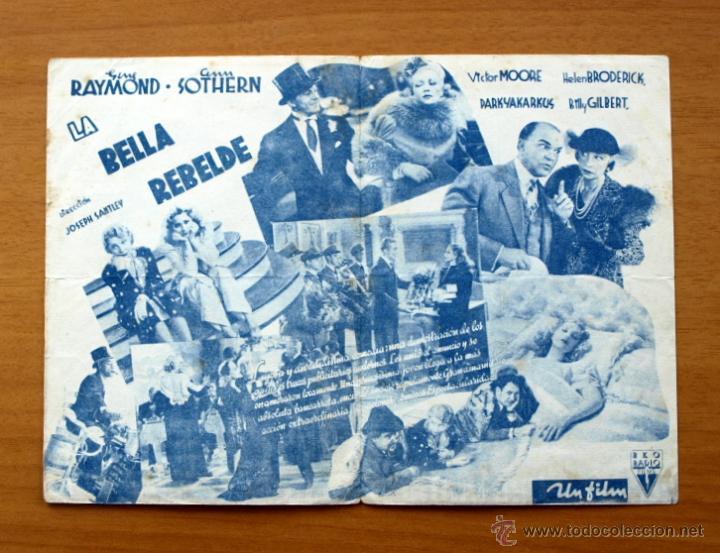 Cine: La bella rebelde - Gene Raymond, Ann Sothern - Foto 2 - 48989394