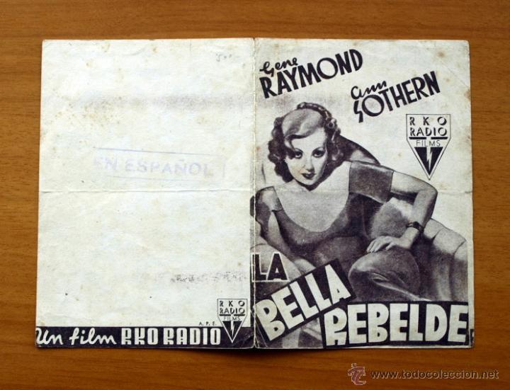 Cine: La bella rebelde - Gene Raymond, Ann Sothern - Foto 3 - 48989394