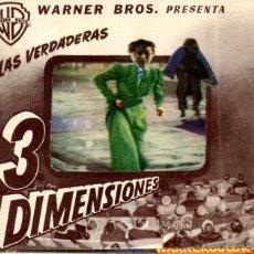 Cine: PROGRAMA DE CINE DE MANO LOS CRIMENES DEL MUSEO DE CERA VINCENT PRICE 3D TERROR AVENTURAS . Lote 51966508