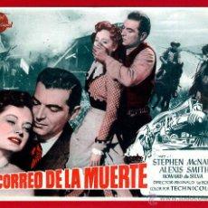 Cine: EL CORREO DE LA MUERTE , SENCILLO GRANDE , ORIGINAL , PMD 912. Lote 294167233