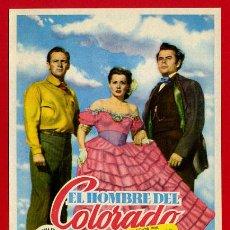 Cine: EL HOMBRE DE COLORADO , SENCILLO GRANDE , ORIGINAL , PMD 920. Lote 262416250