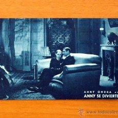 Cine: ANNY SE DIVIERTE - ANNY ONDRA - CON PUBLICIDAD, CINE GADES DE CÁDIZ. Lote 49221826