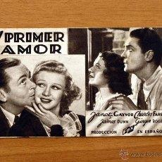 Cine: EL PRIMER AMOR - JANET GAYNOR, GINGER ROGERS. Lote 1439186