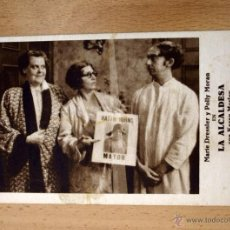 Cine: LA ALCALDESA - KAREN MORLEY, MARIE DRESSLER, POLLY MORAN - CON PUBLICIDAD. Lote 1973572