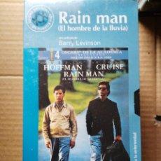 Cine: SEGUNDA MANO VHS, COMO NUEVO - RAIN MAN. Lote 49355299