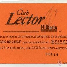 Cine: JUEGO DE LUNA.. Lote 49414907