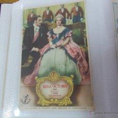 Cine: LA REINA VICTORIA SENCILLO SIN PUBLICIDAD.. Lote 49417112