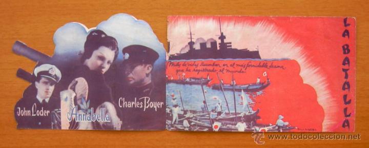 Cine: La batalla - Charles Boyer, Annabella - Troquelado - Publicidad Gran Teatro - Foto 2 - 49430588