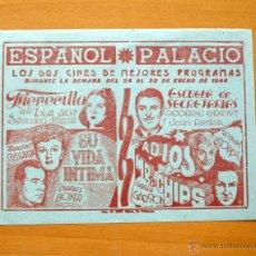 Cine: SU VIDA INTIMA - ESCUELA DE SECRETARIAS - ADIOS MR. CHIPS - FIERECILLA. Lote 49431652