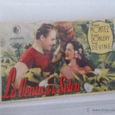 Cine: LA VENUS DE LA SELVA SENCILLO SIN PUBLICIDAD. . Lote 49434277