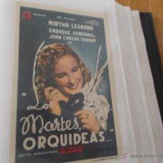 Cine: LOS MARTES ORQUIDEAS SENCILLO SIN PUBLICIDAD. . Lote 49434574