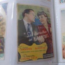 Cine: LOS DIAMANTES DEL HALCON SENCILLO SIN PUBLICIDAD. . Lote 49434648