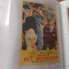 Cine: LA NOVIA DEL DETECTIVE SENCILLO SIN PUBLICIDAD. . Lote 49434674