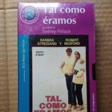 Cine: SEGUNDA MANO VHS, COMO NUEVO - TAL COMO ÉRAMOS. Lote 49440229
