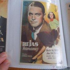 Cine: REJAS HUMANAS SENCILLO SIN PUBLICIDAD. . Lote 49487441