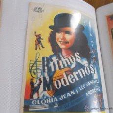 Cine: RITMOS MODERNOS SENCILLO SIN PUBLICIDAD. . Lote 49491535