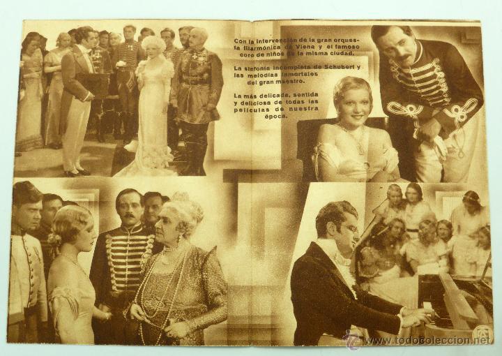 Cine: Vuelan mis canciones programa doble película Matha Eggert Hans Jaray Cine Fantasio - Foto 2 - 49505089