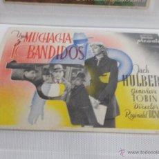 Cine: UNA MUCHACHA Y 10 BANDIDOS SENCILLO SIN PUBLICIDAD.. Lote 49514050