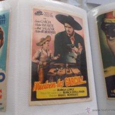 Cine: VUELVEN LOS GARCIA SENCILLO SIN PUBLICIDAD . Lote 49530589