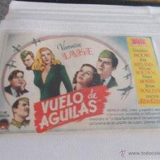 Cine: VUELO DE AGUILAS SENCILLO SIN PUBLICIDAD . Lote 49530894