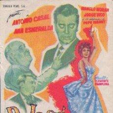 Cine: DON JOSÉ, PEPE Y PEPITO (CON PUBLICIDAD). Lote 49532751