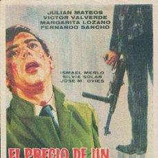 Cine: EL PRECIO DE UN ASESINO. Lote 49548932