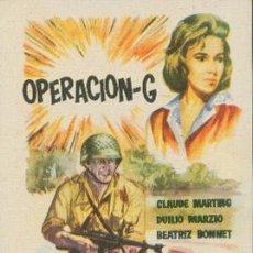 Cine: OPERACIÓN-G. Lote 49581146