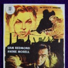 Cine: PROGRAMA DE CINE DE MANO. ORIGINAL. ALTA TRAICION. LIAM REDMOND. ANDRE MORELL.. Lote 177438804