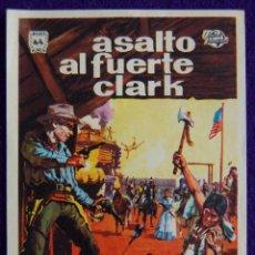 Cine: PROGRAMA DE CINE DE MANO ORIGINAL. ASALTO AL FUERTE CLARK. JEFF CHANDLER- MAUREEN O´HARA.. Lote 49639606