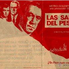 Cine: DIPTICO - LAS SANDALIAS DEL PESCADOR - ANTHONY QUINN - LAURENCE OLIVIER - VITTORIO DE SICA . Lote 49655881