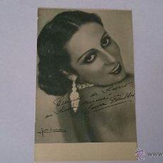 Cine: FOLLETO TARJETA DE MANO PELÍCULA SOCORRO EN SIERRA MORENA - TEATRO CERVANTES 1933 - LAURA PINILLOS. Lote 49656986