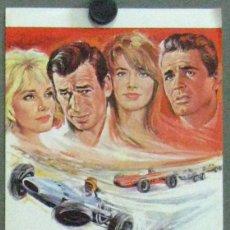 Cine: GRAND PRIX PROGRAMA SENCILLO GRANDE MGM JAMES GARNER FRANÇOISE HARDY AUTOMOVILISMO CARRERAS. Lote 49687184