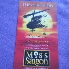Cine: MISS SAIGON. Lote 49712026