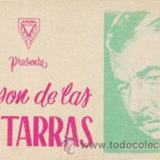 Cine: AL SON DE LAS GUITARRAS (CON PUBLICIDAD). Lote 49741690