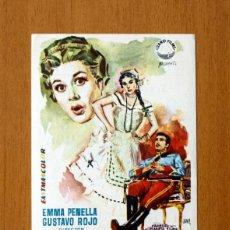 Cine: LA GUERRA EMPIEZA EN CUBA - EMMA PENELLA, GUSTAVO ROJO - PUBLICIDAD CINE TARRAGONA. Lote 177199572
