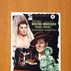 Cine: LA REINA MORA - ANTOÑITA MORENO, PEPE MARCHENA - PUBLICIDAD CINE PRINCIPAL - TARRAGONA. Lote 49869802