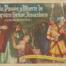 Cine: VIDA, PASIÓN Y MUERTE DE NUESTRO SEÑOR JESUCRISTO (CORONA DE ESPINAS). Lote 49882834