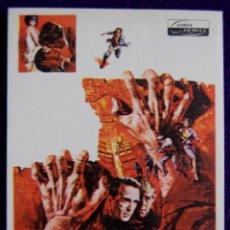 Cine: PROGRAMA DE CINE DE MANO ORIGINAL. EL DESERTOR. MONTGOMERY CLIFT-HARDY KRUGER. COCA.. Lote 50704110
