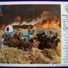 Cine: PROGRAMA DE CINE DE MANO ORIGINAL GRANDE. EL GRAN COMBATE. JAMES STEWARD. . Lote 49906636