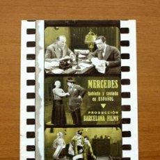 Cine: MERCEDES - CARMELITA AUBERT, JOSÉ SANTPERE - PUBLICIDAD CINE KURSAAL. Lote 50050373