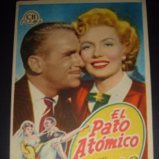 Cine: EL PATO ATOMICO. DOUGLAS FAIRBANKS JR. VAL GUEST. CINE ARAMO 1953. Lote 50053895